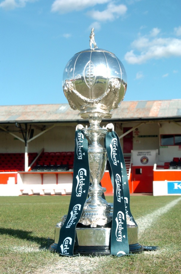 Ebbsfleet Utd FC with FA Trophy
